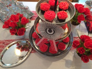 Kentucky derby /Run for the Roses cupcakes