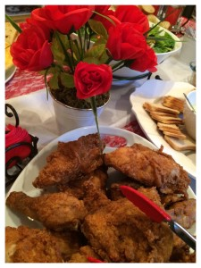 Kentucky Fried Chicken/Kentucky Derby party